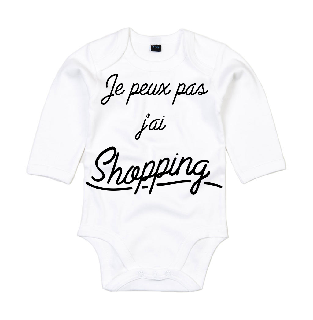 Body Je peux pas, j\'ai shopping !
