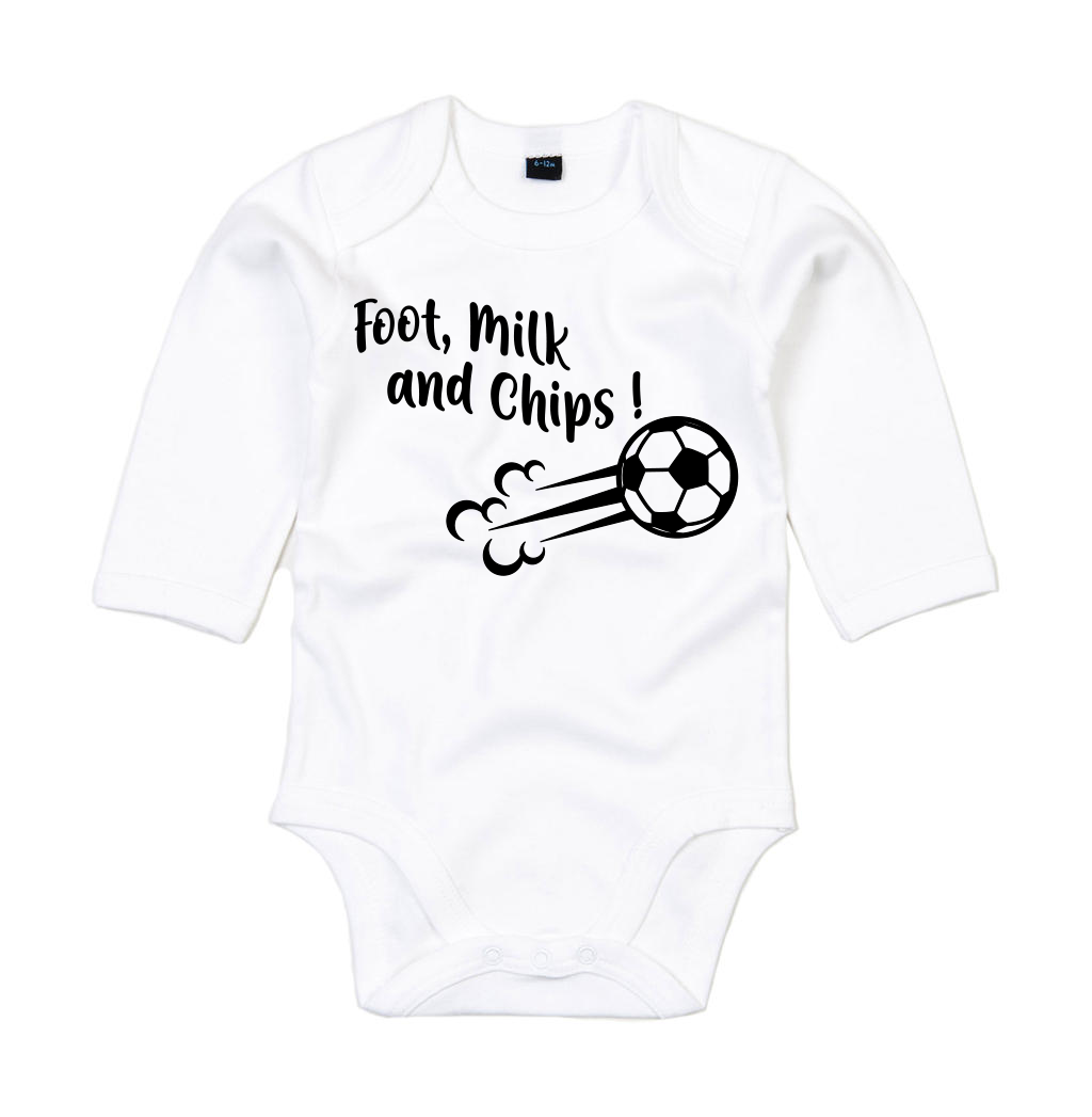 Body Foot, milk and chips