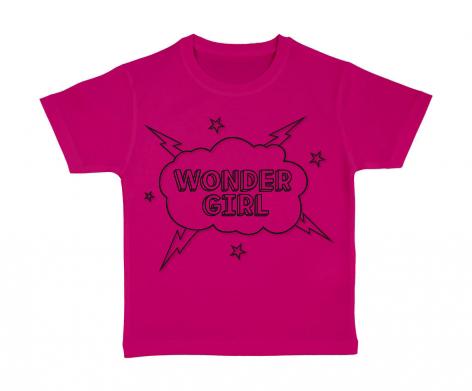 T-shirt enfant Wonder Girl