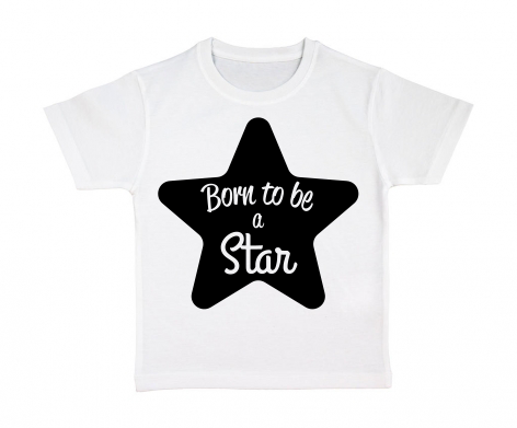 T-shirt enfant Born to be a Star