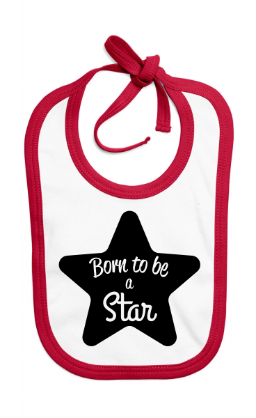 Bavoir Born to be a Star