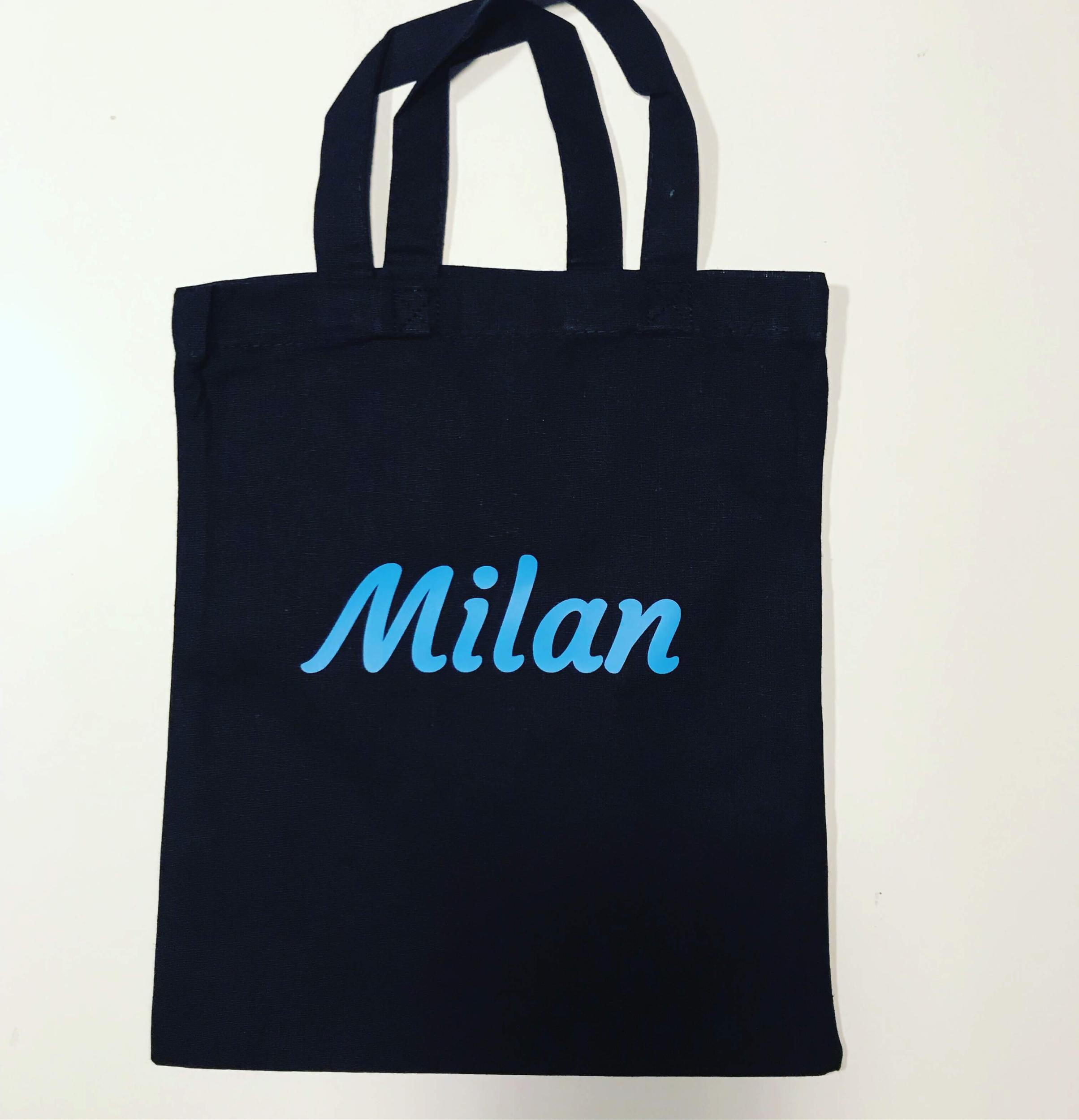Mini tote bag prénom