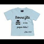 tshirt-bleu-ciel-bonne-fete-papa