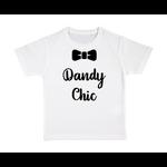 T-shirt enfant blanc Dandy chic