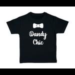 T-shirt enfant noir Dandy chic