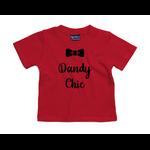 tshirt-bébé-rouge-dandy-chic