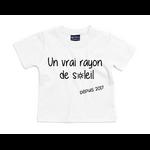 tshirt-bébé-blanc-rayon-de-soleil