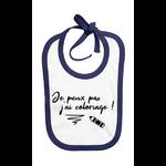 bavoir_je_peux_pas_jai_coloriage_bleu_marine