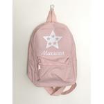 Mini sac à dos rose étoiles