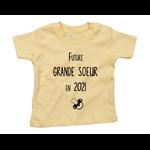 tshirt-bébé-grande-soeur-jaune