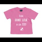 tshirt-bébé-grande-soeur-rose-bubble