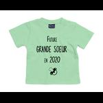 tshirt-bébé-grande-soeur-vert