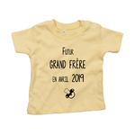 tshirt-bébé-grand-frere-jaune