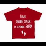 tshirt-enfant-future-grande-soeur-rouge