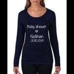 tshirt-femme-babyshower-bleu