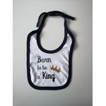 Bavoir_born_to_be_a_king_bleu