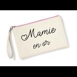 Pochette-mamie-en-or-zip-rose