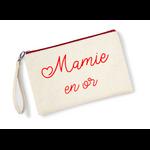 Pochette-mamie-en-or-zip-rouge
