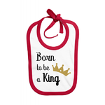 bavoir_born_to_be_a_king_rouge
