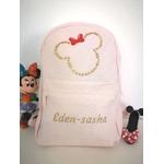 Mini sac à dos personnalisé Tête de Minnie