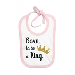 bavoir_born_to_be_a_king_rose