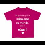 tshirt-enfant-meilleure-mamie-du-monde-rose