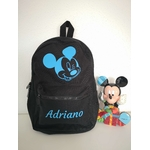 Mini sac a dos Mickey noir