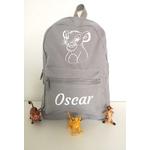 Mini sac à dos Roi Lion gris