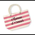 Sac-de-plage-maman-damour-rose