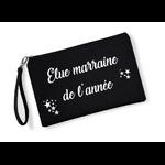 Pochette-elue-marraine-de-lannee-black