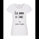 t-shirt-femme-elue-maman-de-lannee-blanc