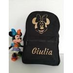 Mini sac à dos Minnie noir