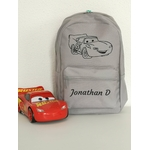 Mini sac à dos Cars gris