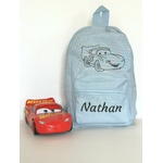 Mini sac à dos Cars bleu