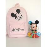 Mini sac à dos Mickey rose