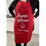 Tablier personnalisé Mamie Gâteaux au cœur tendre