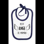 bavoir_petit_ange_de_maman_bleu_marine