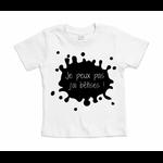 t-shirt blanc je peux pas jai bêtises