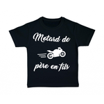 tshirt-enfant-noir-motard-de-pere-en-fils