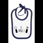 Bavoir_coton_a_table_bleu_marine