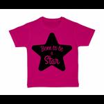 tshirt-enfant-rose-born-to-be-a-star