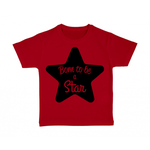 tshirt-enfant-rouge-born-to-be-a-star