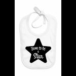 bavoir-blanc-born-to-be-a-star