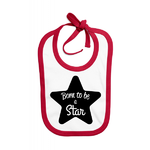 bavoir-rouge-born-to-be-a-star