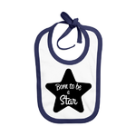 bavoir-bleu-navy-born-to-be-a-star