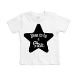 tshirt-blanc-born-to-be-a-star