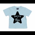 tshirt-bleu-ciel-born-to-be-a-star