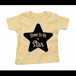 tshirt-jaune-born-to-be-a-star