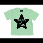 tshirt-vert-menthe-born-to-be-a-star
