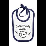 bavoir_caractère_de_cochon_bleu_marine